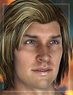 Tristan Hair for Gianni 6 and Genesis 2 Male(s)