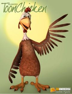 3D Universe Toon Chicken