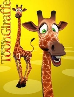 3D Universe - Toon Giraffe