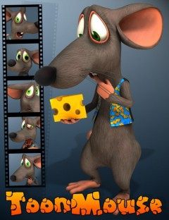 3D Universe Toon Mouse