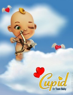 Cupid for 3D Universe's Toon Baby