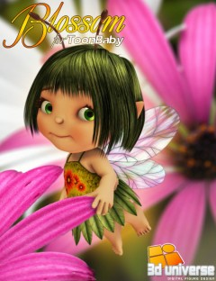 Blossom for 3D Universe's Toon Baby