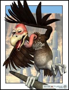 Toonimal Vulture