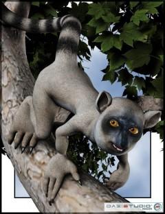 Toonimal Lemur