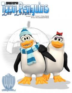 3D Universe - Toon Penguins
