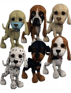 SS Toonimal Puppy Mappak