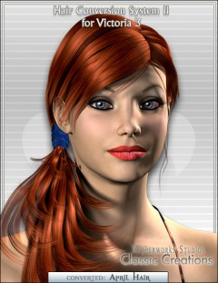 Hair Conversion System II for Victoria 3
