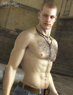 Unshaven Body Hair for Genesis
