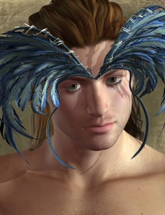 Feather Male Hair