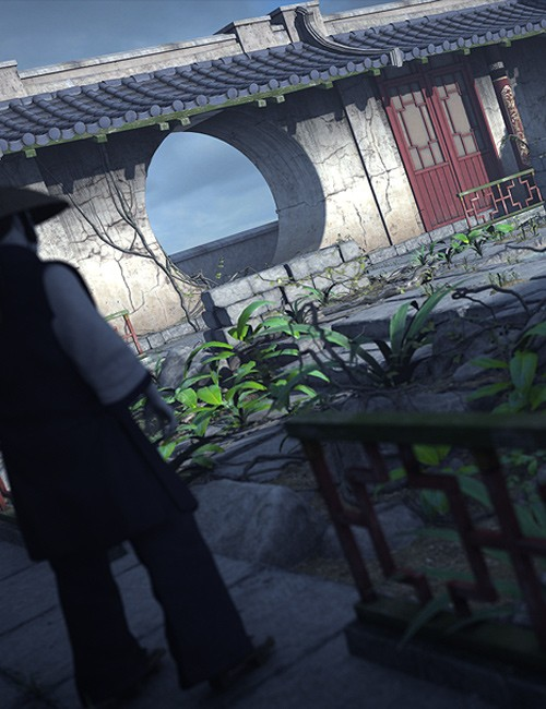 Streets Of Asia 3: Courtyard