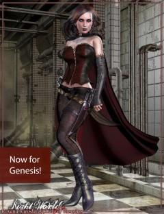 Roxana Yaroslavna, Vampire Lady For Genesis