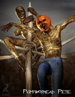 Pumpkin Head Pete - The Scarecrow