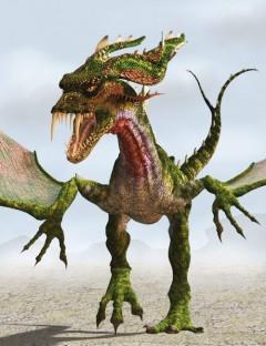Fork Tail Dragon
