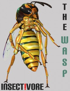 Insect-I-Vore 'The Wasp'