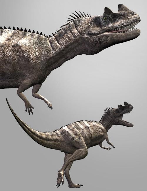 Ceratosaurus | 3D Models for Daz Studio and Poser