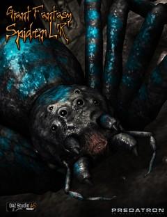 Giant Fantasy Spider LR