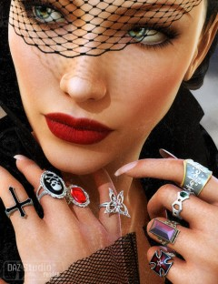 Just Rings Goth