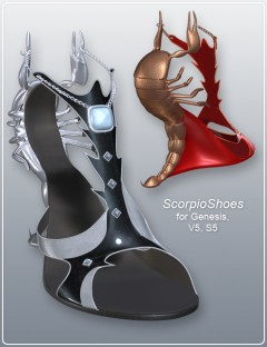 Scorpio Shoes for Genesis