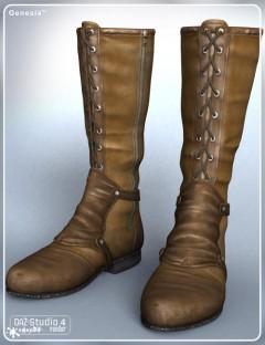 Stalker Girl Boots for Genesis