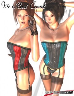 Real Corset Set For V4