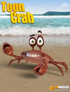 3D Universe Toon Crab
