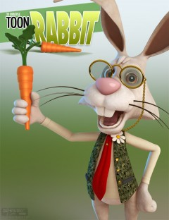 Toon Rabbit for Poser