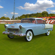 Chevrolet Bel Air 1955 (for 3D Studio Max)