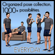 Everyday poses collection M4