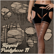 PB- Ripped Pantyhose II