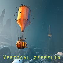 Vertical zeppelin