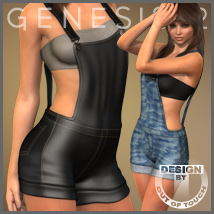 Sexy Overalls for Genesis 2 Female(s)