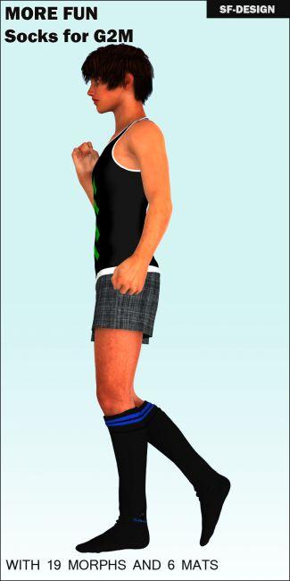 More Fun - Tube Socks for G2M