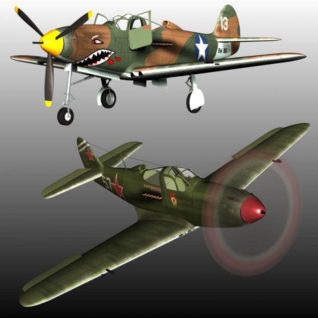BELL P39 AIRACOBRA BUNDLE