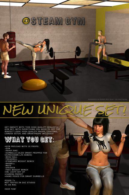 i13 STEAM gym