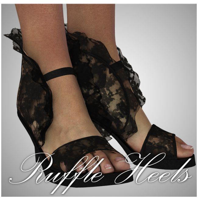 SP - Ruffle Heels for V4