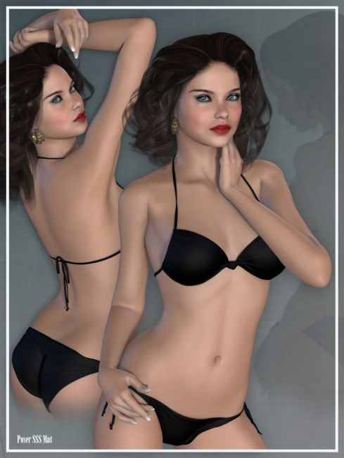 vh vanessa characters for daz studio and poser. Black Bedroom Furniture Sets. Home Design Ideas