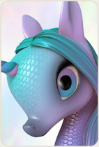 Fairytale Unicorn Baby for DAZ Studio