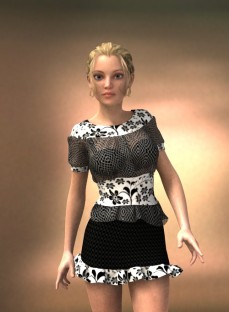 Glam Party Ensemble for Genesis 2 Female(s)