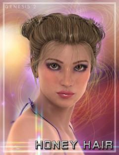 Honey Hair for Genesis 2 Female(s)