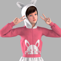 Cute Hoodie for Genesis Julie