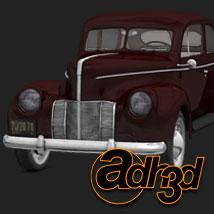 1940 Ford Sedan 2 doors