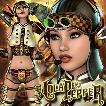 Flying Cadet Lola Pepper