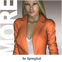 MORE Textures & Styles for SpringSuit
