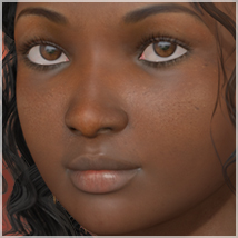 A3D Kewe Black Beauty for V4