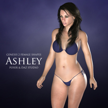 Genesis 2 Female Shapes: Ashley