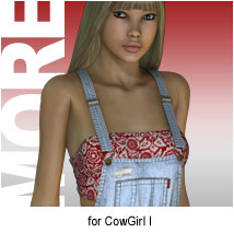 MORE Textures & Styles for CowGirl I
