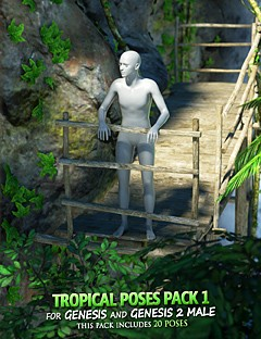 Tropical Poses Pack 1