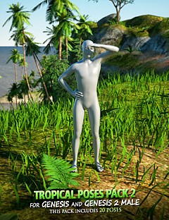 Tropical Poses Pack 2