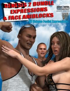 Genesis 2 Bundle Expressions & Face aniBlocks