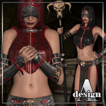 ARCANUM for Darkling Character and Outfit